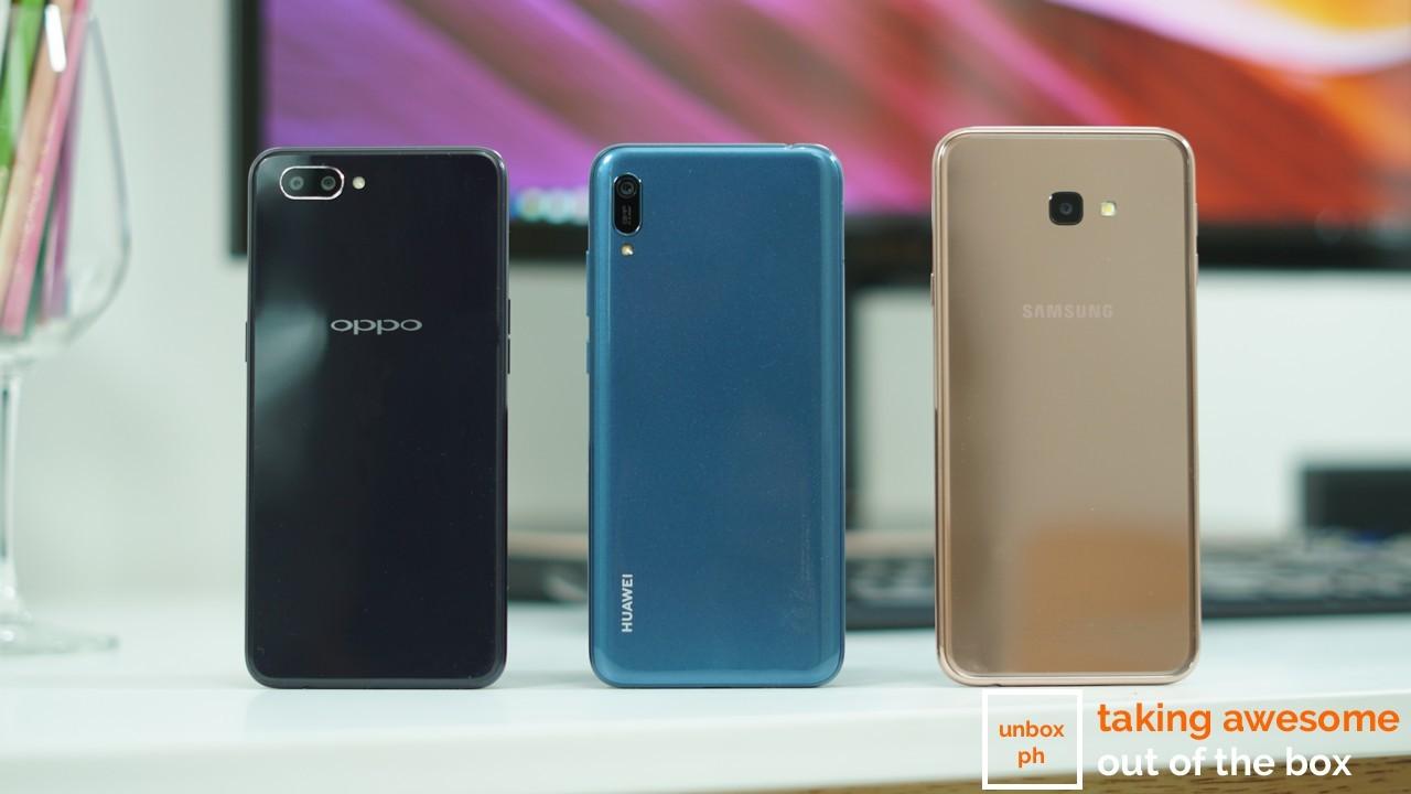 Photo of Samsung Galaxy J4+ VS OPPO A3s VS Huawei Y6 Pro 2019: Budget Triple Comparo