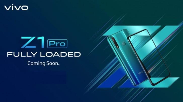 Photo of vivo Teases Z1 Pro in India