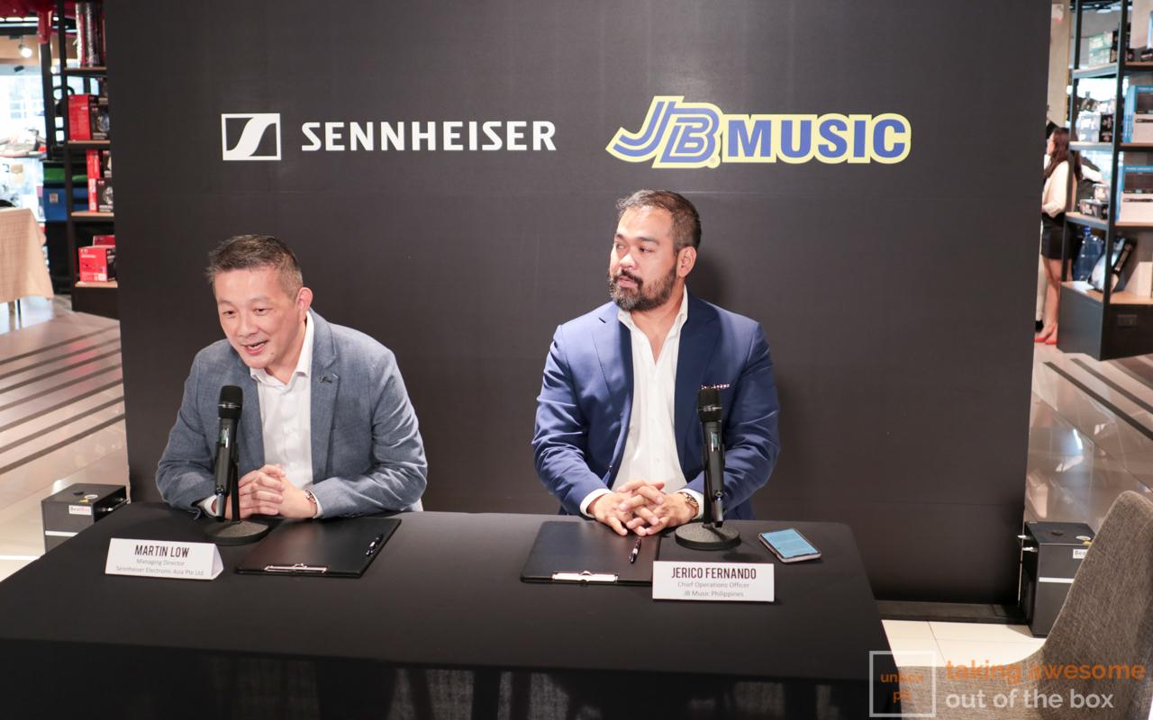 Photo of Sennheiser Inks Partnership with JB Music