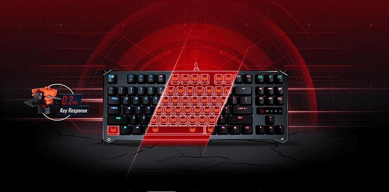 Photo of Bloody Debuts B930 Light Strike Keyboard