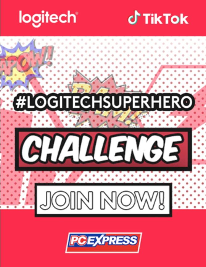 TikTok Partners with Logitech for #LogitechSuperhero